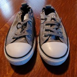 Silver Converse, 4 Junior